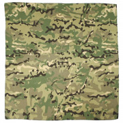 Бандана тактическая MFH, 55х55 см, камуфляж - Operation Camo