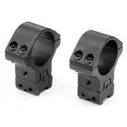 Небыстросъемные раздельные кольца SportsMatch-UK на призму 9.5-11 мм, 30 мм, регулируемые