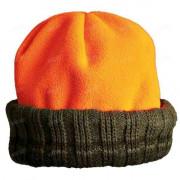 Двухсторонняя зимняя шапка BROWNING Polar, цвет зелёный / оранжевый