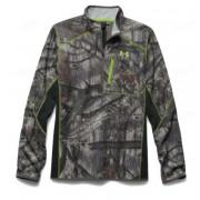 Куртка легкая UNDER ARMOUR ArmourFleece 1/4 Zip, камуфляж Mossy Oak Treestand
