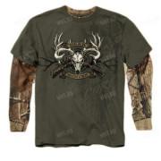 Толстовка BUCK WEAR Deer Hunter Core, цвет болотный