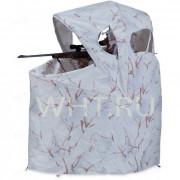 Переносная зимняя складная засидка-стул AMERISTEP, камуфляж SnowTangle®