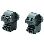 Небыстросъемные раздельные кольца SportsMatch-UK на призму 9.5-11 мм, 30 мм, с усил. стопором, 21 мм