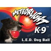 Cветящийся мяч Nite Ize Meteor Light K-9 для дрессировки собак (синий)