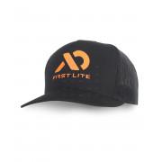 Бейсболка First Lite с логотипом, черная