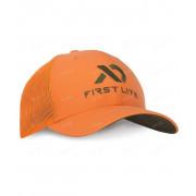 Бейсболка FIRST LITE Trucker, цвет Hunter Orange