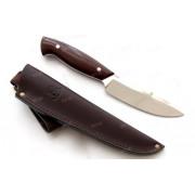 """Нож """"Кит"""", цельнометаллический клинок, рукоять микарта, сталь Х12МФ"""