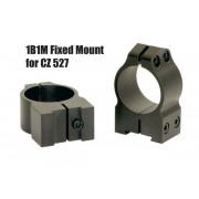 """Крепления Warne CZ527 для прицелов 1"""" 25,4 мм Medium 1B1M"""