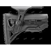 Амортизирующий приклад для AR15/M16/АК с упором для щеки GL-SHOCK CP, без трубки FAB-Defense (олива)