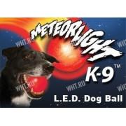 Cветящийся мяч Nite Ize Meteor Light K-9 для дрессировки собак, зелёный