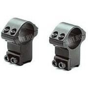 Небыстросъемные раздельные кольца SportsMatch-UK на призму 11-13 мм, 25.4 мм, со стопорами