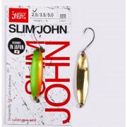 Блесна колеб. Lucky John SLIM JOHN длин.37мм/02.5г 020, LJSJ25-020
