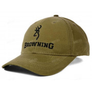Бейсболка BROWNING Lite Wax, цвет хаки