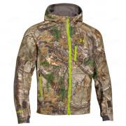 Куртка UNDER ARMOUR Gore-Tex Windstopper, камуфляж Realtree Xtra