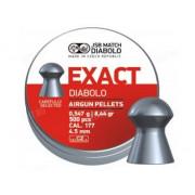 Пули для пневматики JSB Exact Diabolo 4,53 мм 0,547 грамма (500 шт.)