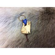 "Брелок деревянный ""Кошка"", Wood Jewel (Финляндия)"