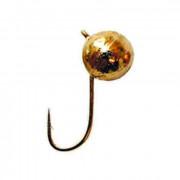 Мормышка вольфрамовая Lucky John ШАР с петел. 030/G, LJ04030-02