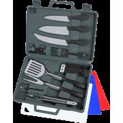 Набор ножей и инструментов для барбекю OUTDOOR EDGE Cut-N-Que Pro, 14 предметов
