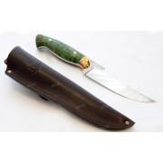 "Нож ""Акула"", цельнометаллический клинок, рукоять стаб. древесина, сталь Х12МФ"