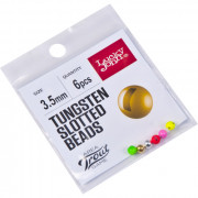 Головки Lucky John Area Trout Game вольфрамовые 03.5мм 6шт(Gold, Silver, Yellow, Pink, Red, Green)