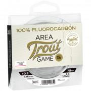 Леска монофильная Lucky John Area Trout Game FLUOROCARBON Pink 075/023