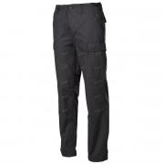 Брюки US BDU Field Pants, Rip Stop, с накладками на коленях, цвет - Чёрный