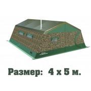 Палатка армейская двухслойная ТЕРМА 2М-45 (4.2х5.2, многофункциональные окна)