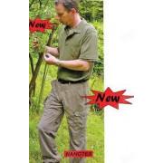 Брюки мужские AKAH Wallis Nanotech, цвет оливковый