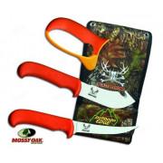 Набор разделочных ножей с точилкой OUTDOOR EDGE Blaze`n`Bone с чехлом для ношения