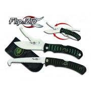 Набор OUTDOOR EDGE Flip`n`Zip/Saw Combo: складной нож с двумя лезвиями + складная пила