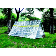Reflective Tube Tent - Silver