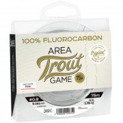 Леска монофильная Lucky John Area Trout Game FLUOROCARBON Pink 075/025