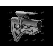 Амортизирующий приклад AR15/M16/АК с упором для щеки GL-SHOCK CP, без трубки FAB-Defense (чёрный)