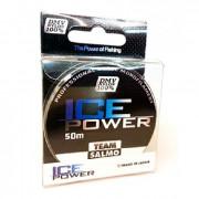 Леска монофильная Team Salmo ICE POWER 50/018