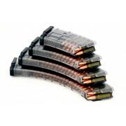 Магазин PufGun ВПО-136, ВПО-209, АК, АКМ на 30 патронов 7,62x39, прозрачный