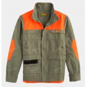 Куртка UNDER ARMOUR Prey Shooting, цвет зеленый с оранжевыми вставками