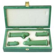 (001859) Подарочный набор из четырёх профессиональных манков на косулю Deer Call Set Luxury