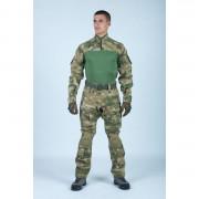 Боевая рубашка Giena Tactics Тип 1, камуфляж - ATACS-FG