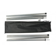 Alu poles set 1.6x240 см