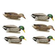 Комплект Avian-X полноразмерных кормящихся чучел кряквы - TOPFLIGHT BACK WATER Mallards