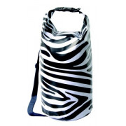 Zebra Dry Sack with strap, 20L