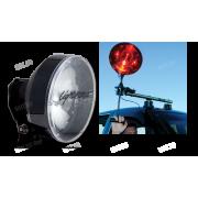 Комплект LightForce BLITZ-240 с прожектором 240 мм для установки на автомобиль или лодку