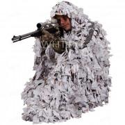 Маскировочный костюм-пончо AMERISTEP 3D Ghillie, камуфляж Snow Tangle (зимний), Ameristep