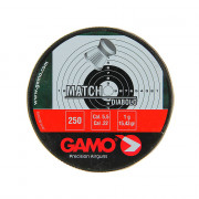Пули для пневматики GAMO MATCH DIABOLO 5.5 мм/250 шт. в коробке, 48801000