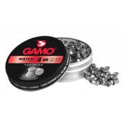 Пули пневматические Gamo Match калибр 4,5 мм, 0,49 гр, 250 шт, 6320024