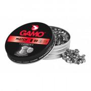 Пули пневматические Gamo Match калибр 4,5 мм, 0,49 гр, 500 шт, 6320034