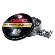 Пули пневматические Gamo Pro Match калибр 4,5 мм, 0,49 гр, 250 шт, 6321824