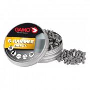 Пули пневматические Gamo G-Hammer калибр 4,5 мм, 1,0 гр, 200 шт, 6322822