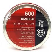 Пульки для пневматики Geco DIABOLO 4,5 мм, 0,450 г. (500 шт./бан.)