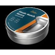 Пульки HN Finale Match Heavy винтовочные кал. 4,5 мм 0,53 г (500 шт./бан.)